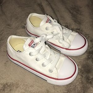 White Toddler Converse